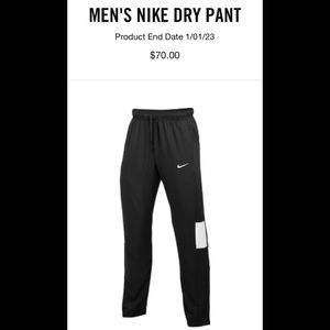 Brand New! MEN'S NIKE DRY PANT